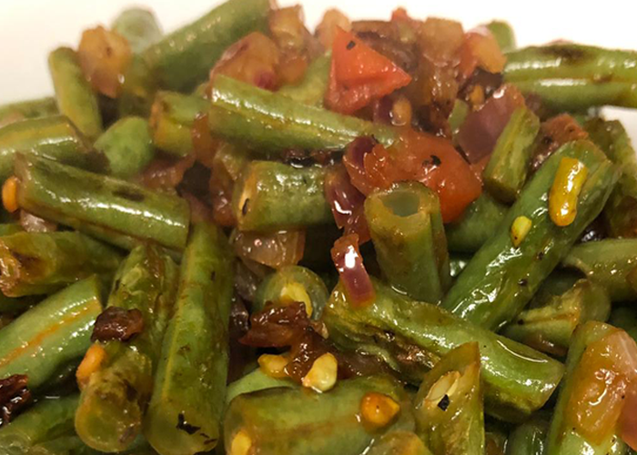 Sauteed Green Beans Salad - Cooking Revived