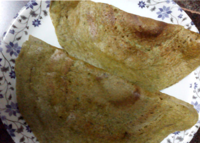 Cherupayar Dosa - Cooking Revived