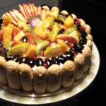 Fruit Charlotte Cake-Filled with Fruits