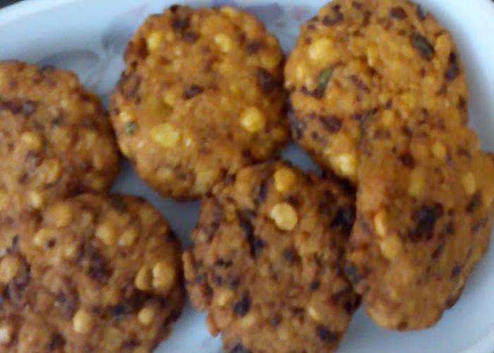 Peas Dal Vada - Cooking Revived
