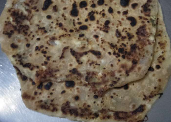 Cheesy Paneer Roti - Cooking Revived