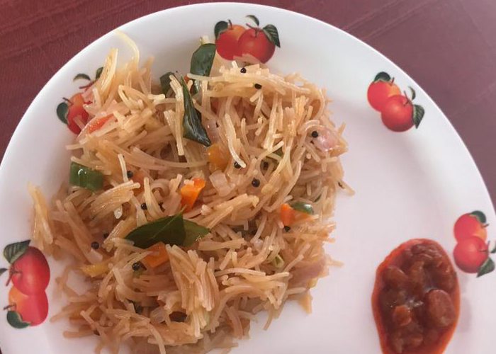 Vermicelli Upma - Cooking Revived