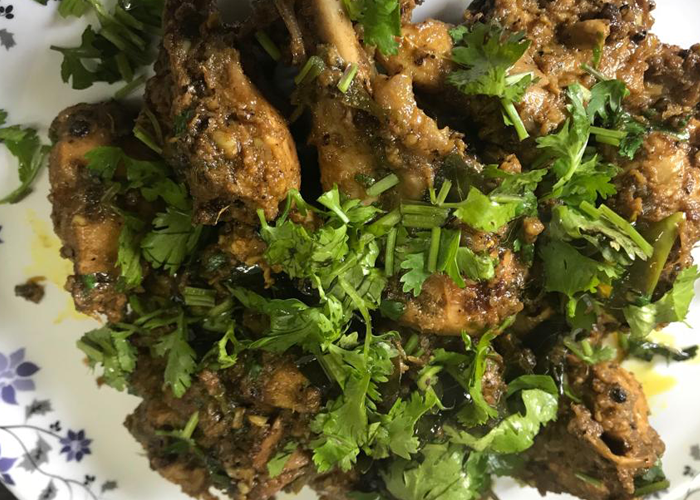 Chicken Pepper Masala Fry - Cooking Revived