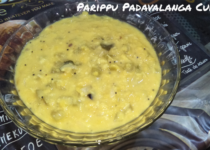 Parippu Padavalanga Curry