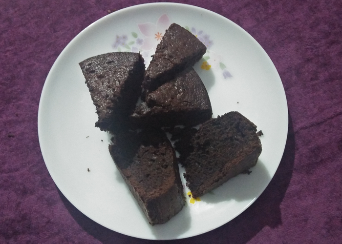 Chocolate Ghee Cake