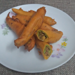 Chicken Stuffed Mulaku Bhaji